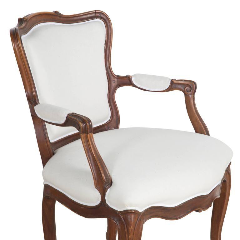 barokk karfás szék Vintage