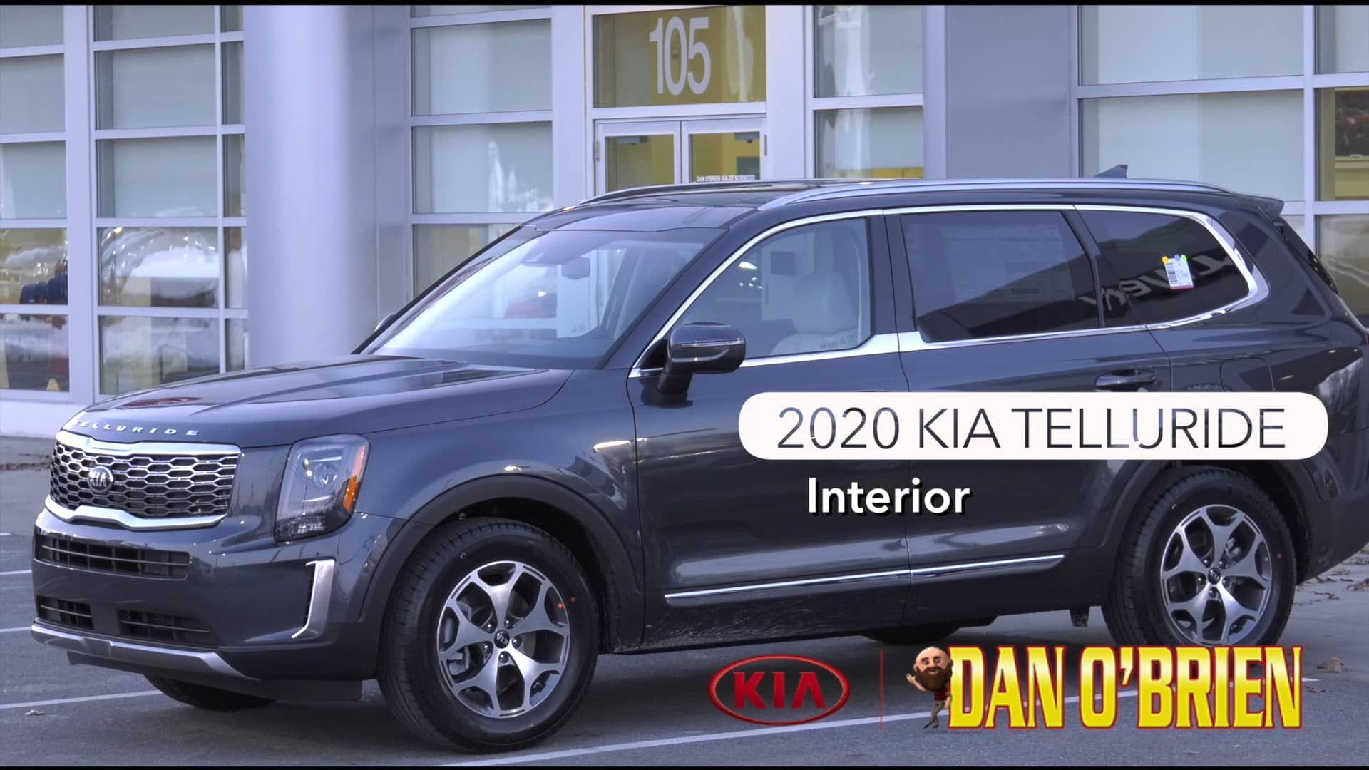 2020 Kia Telluride Comfortable And Spacious Concord Nh Dan O Brien Kia Kia Car Videos North Hampton