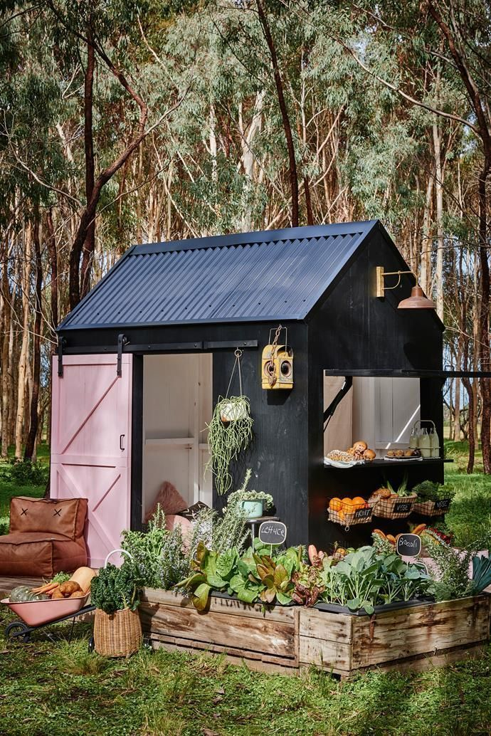 Photo of A new kind of Cubby House, #creativegardenideasunique #Cubby #Haus #Nett …