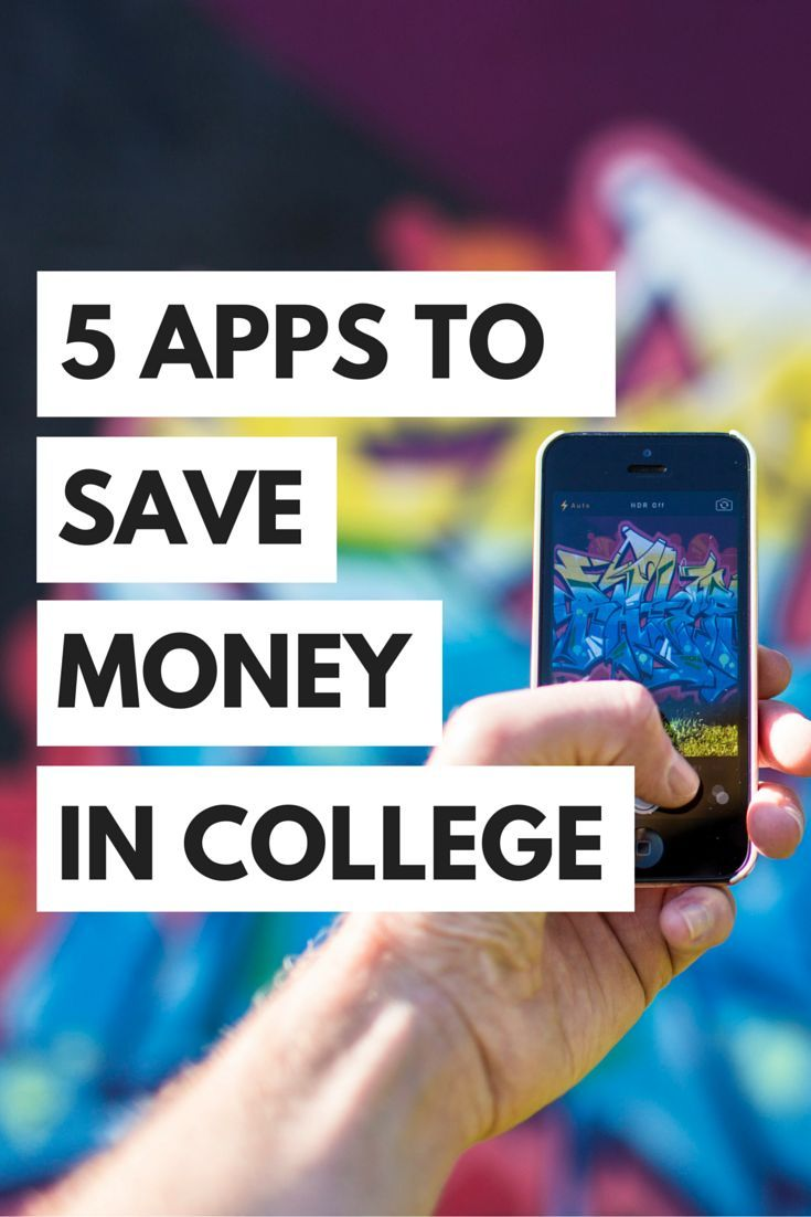 5 apps to save you money in college | college stuff | pinterest