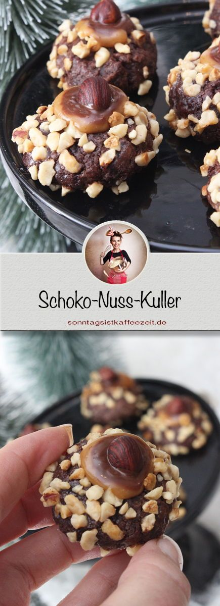 Photo of Christmas chocolate-nut-kuller. A simple recipe, but with great effect …
