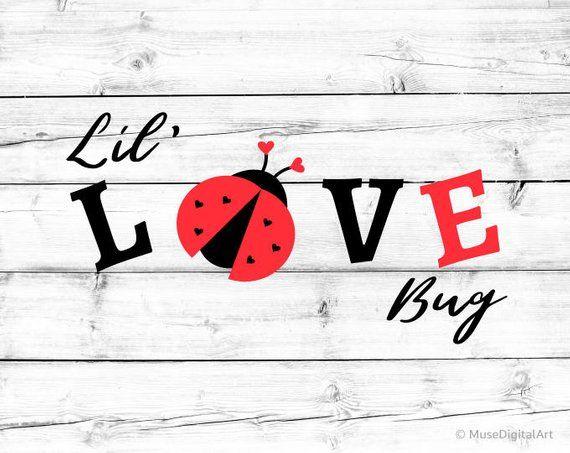 Download Little Love Bug Svg Valentines Day Kids Svg Iron-Ons ...