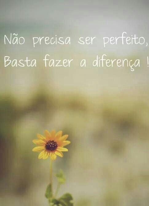 Perfeito x diferença