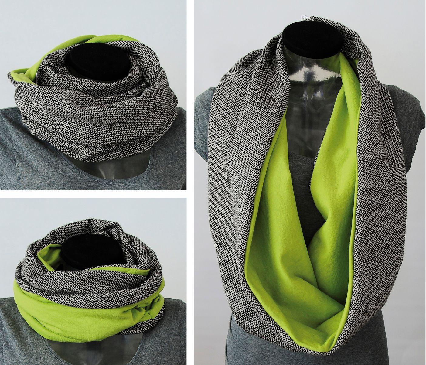 scarf idea to make myself | Accesoris | Pinterest | Costura, Ideas ...