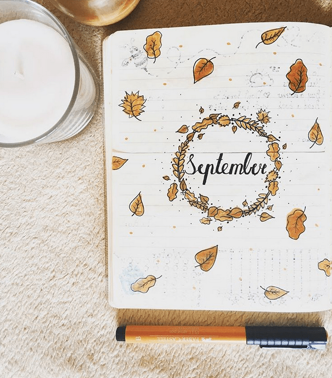 24 September Bullet Journal Layouts & Themes You'll LOVE #halloweenbulletjournal
