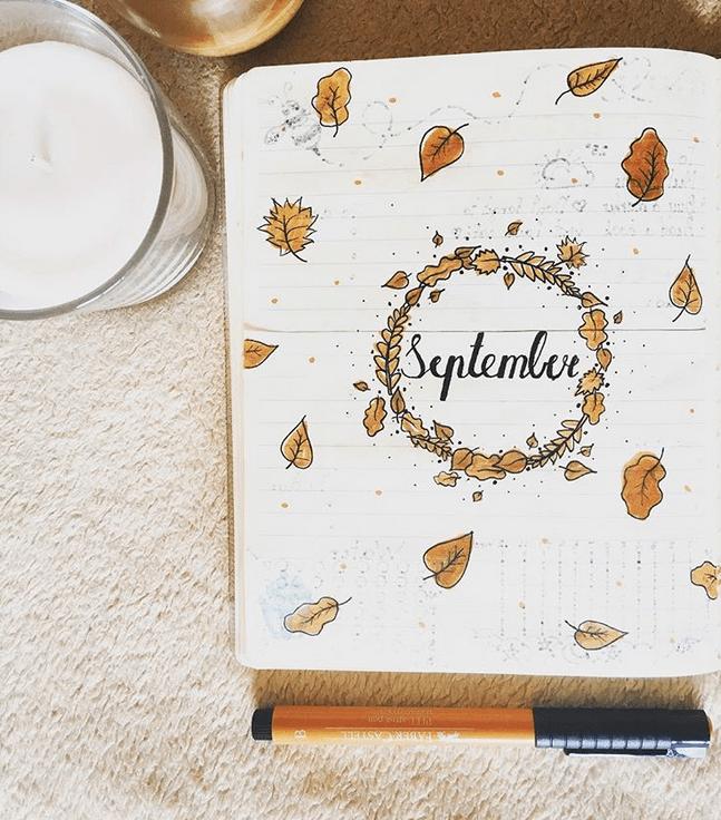 24 September Bullet Journal Layouts & Themes You'll LOVE #halloweenbulletjournal