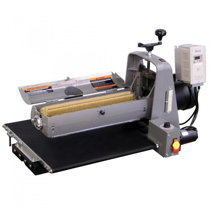 Supermax 19 38 Combo Brush Drum Sander A Single Machine With The Ability To Drum Sand Profile Sand Scuff Sand And Woodworking Sander Sanders Homemade Tools