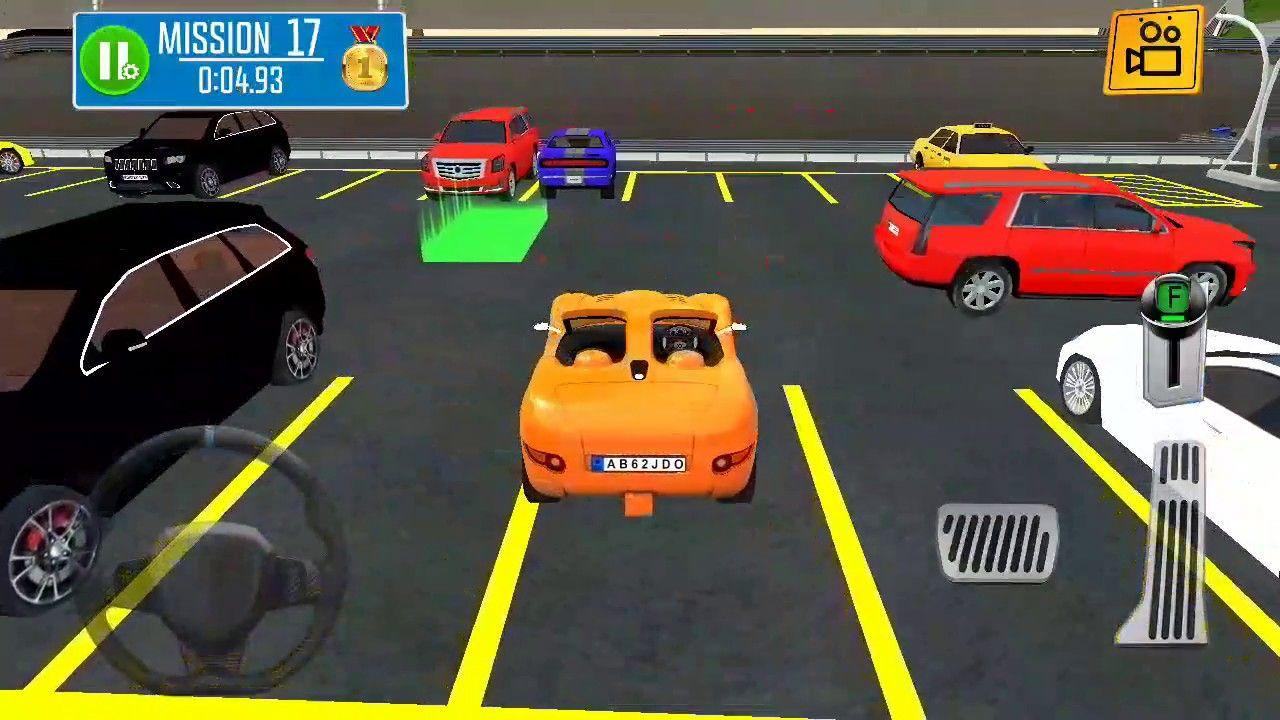 Multi Floor Garage Driver Android Gameplay 11 Car Games Car