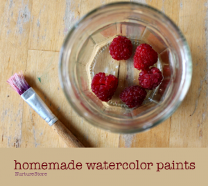 How to make homemade watercolor paints recipe Homemade