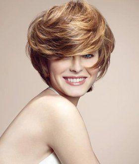 Capelli corti 2014 | Coupe de cheveux, Coupe de cheveux courte, Coupes courtes cheveux ondulés