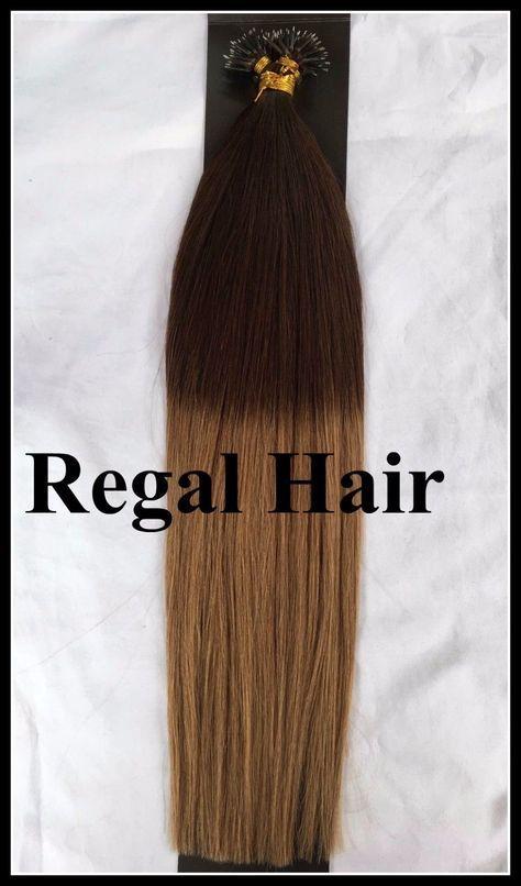 18nano Tipsrings 212 Dipdye Ombre Human Hair Extensions
