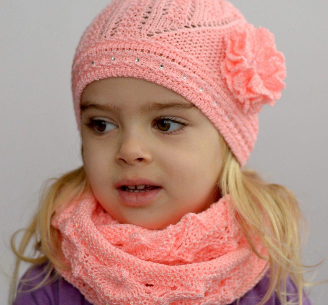 вязание снуд для девочки 5 лет