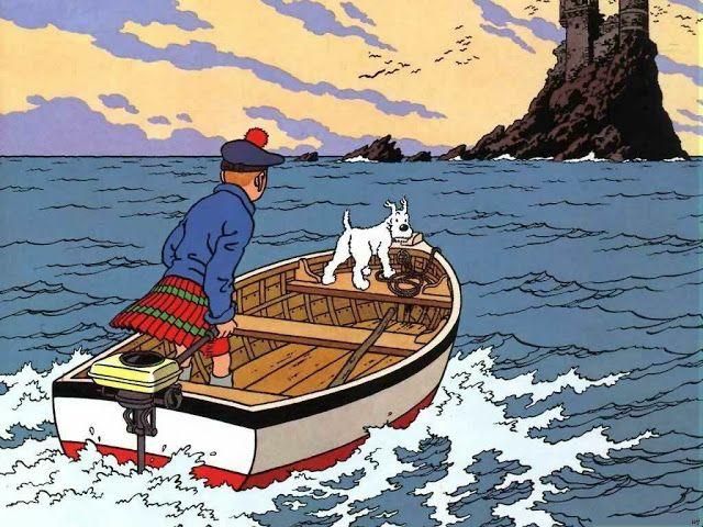 Tintín - La isla negra | The Adventures of Tintin en 2019