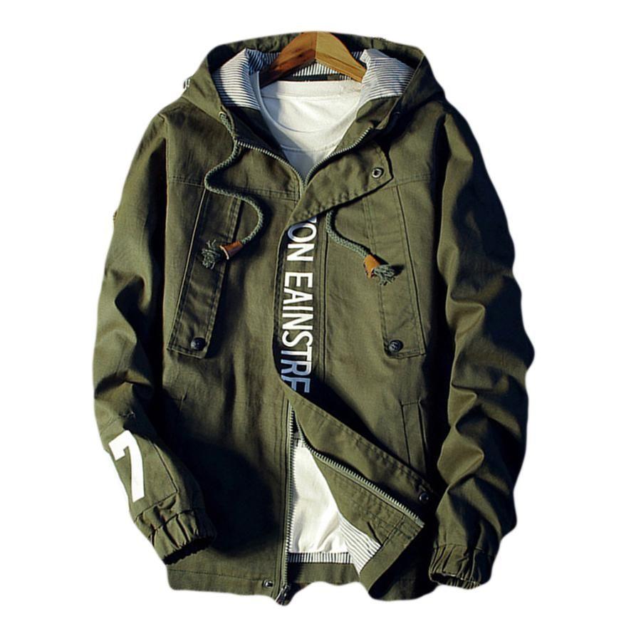 Softshell Spring Jacket Men Plus Size Hooded 2018 Camouflage Mens Bomber  Jackets Hiphop Streetwear Abrigo Hombre Overcoat 60j036.
