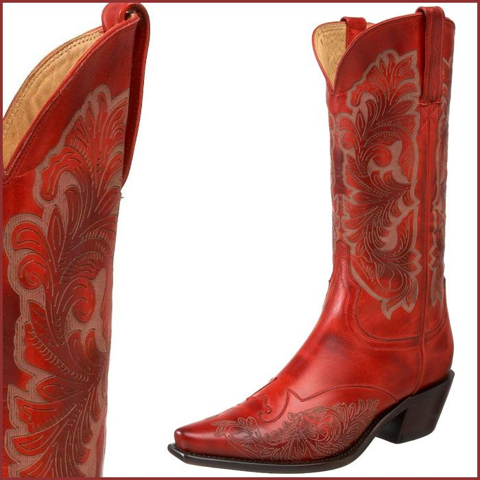 red cowboy boots | Red Cowboy Boots by Charlie 1 Horse | Fashion ...