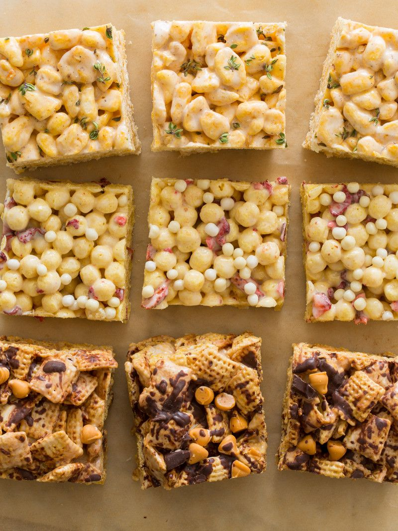 Check Out Marshmallow Cereal Treats It 39 S So Easy To Make