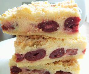 Streuselkuchen Mit Quark Kirsch Fullung Rezept Quark Streuselkuchen Streuselkuchen Und Einfacher Nachtisch