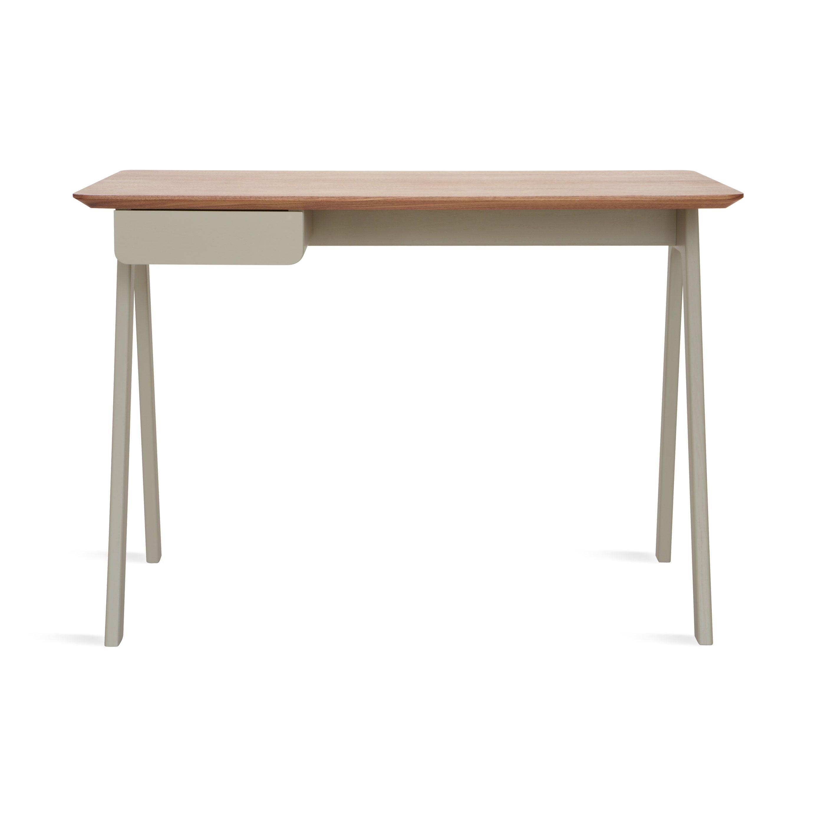 Stash Desk Walnut Grey Furniture Sofa Set Modern Desk Furniture