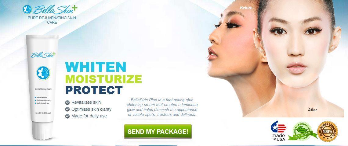 Bella Skin Plus Skin Whitening Cream With Multi Functions Skin