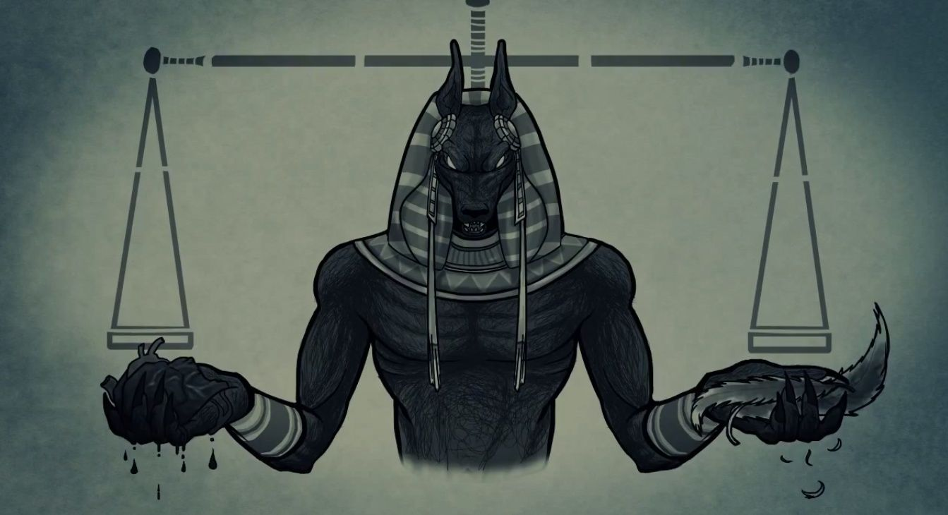 Anubis Is The Ancient Egyptian God Of The Embalming Process And
