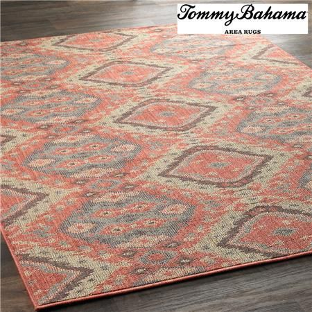 Bahama Colorful Tribal Batik Outdoor Rug