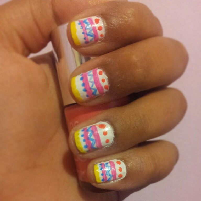 #easternails #naildesign #nailart #colourful