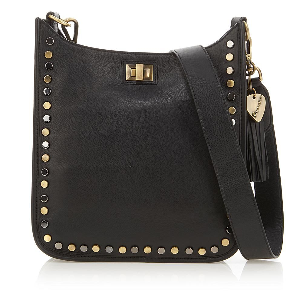 c66c7221474bce Sheryl Crow Studded Leather Crossbody Bag - 1839934 | Products ...