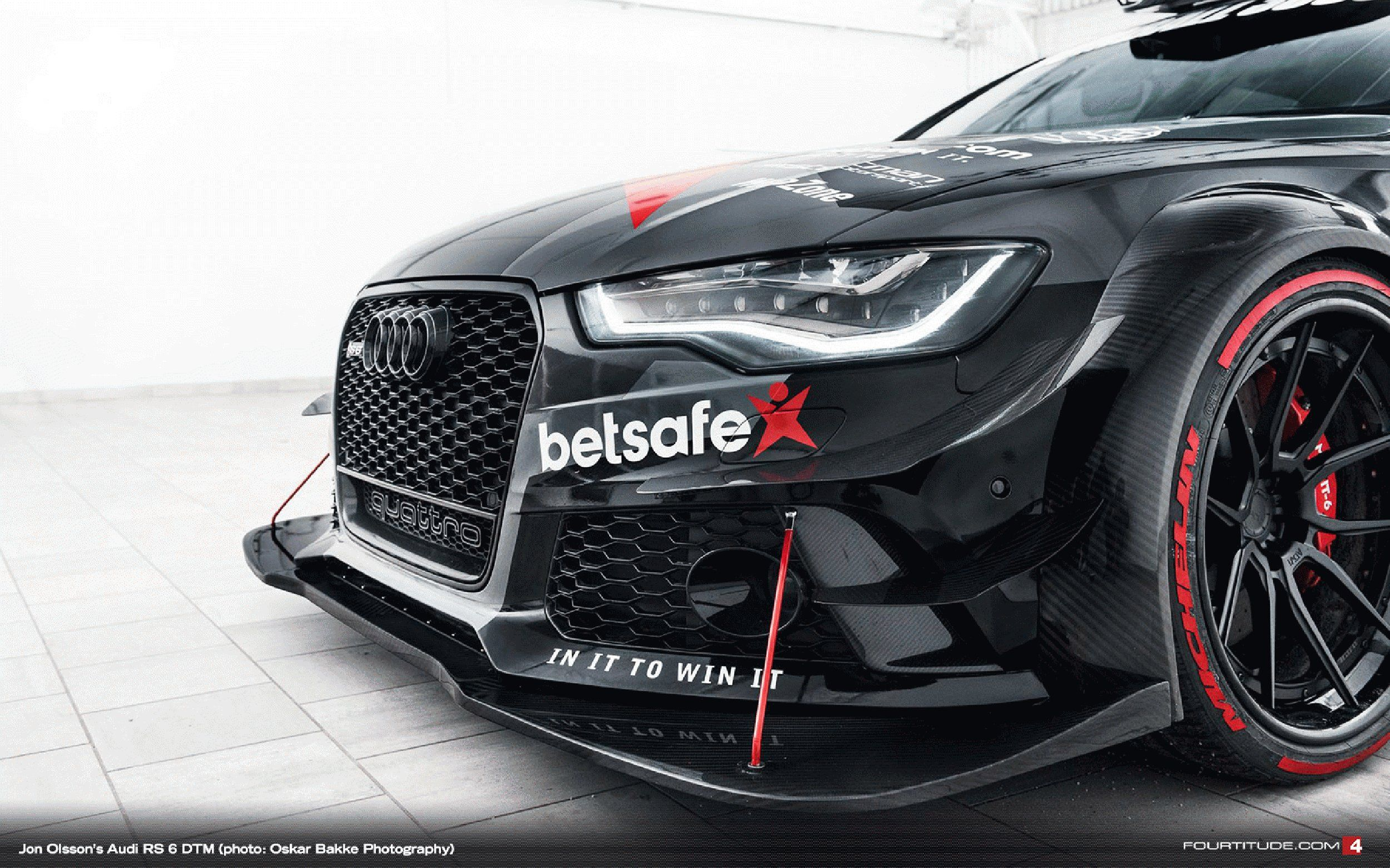 The Betsafe Audi RS6  950 horsepower  Awesome sound system