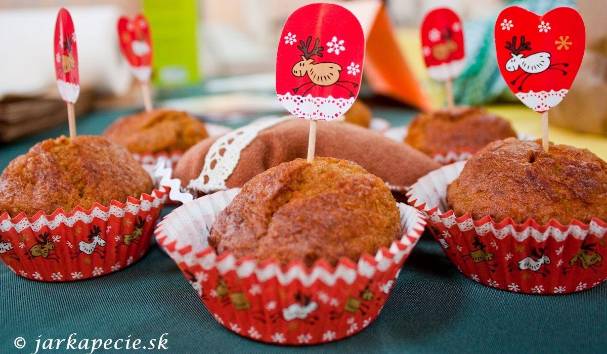 """Mrkvové muffinky podľa """"Simply  Nigella"""""""