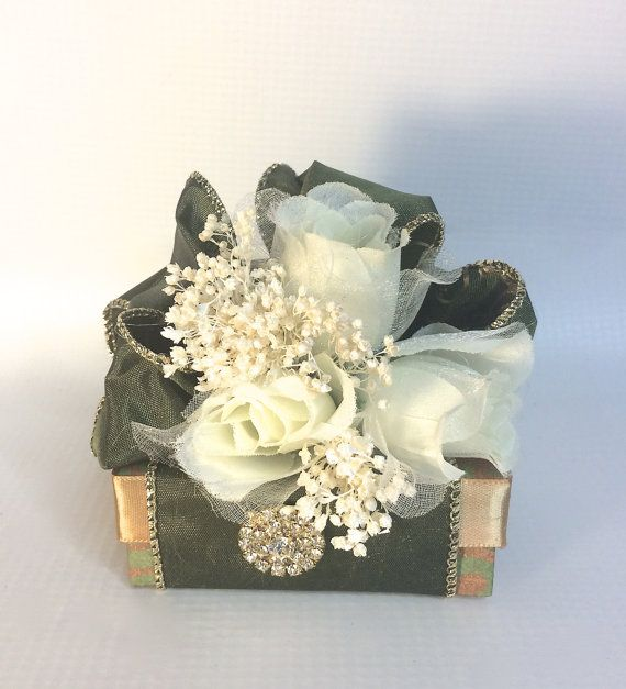 Favor Gift Box Olive Green Gold Bo Wedding Jewelry Favors Mothers Day Bridesmaid Handmade Decorative