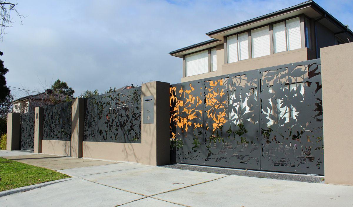 Modern Steel Fence Gate Www Pixshark Com Images
