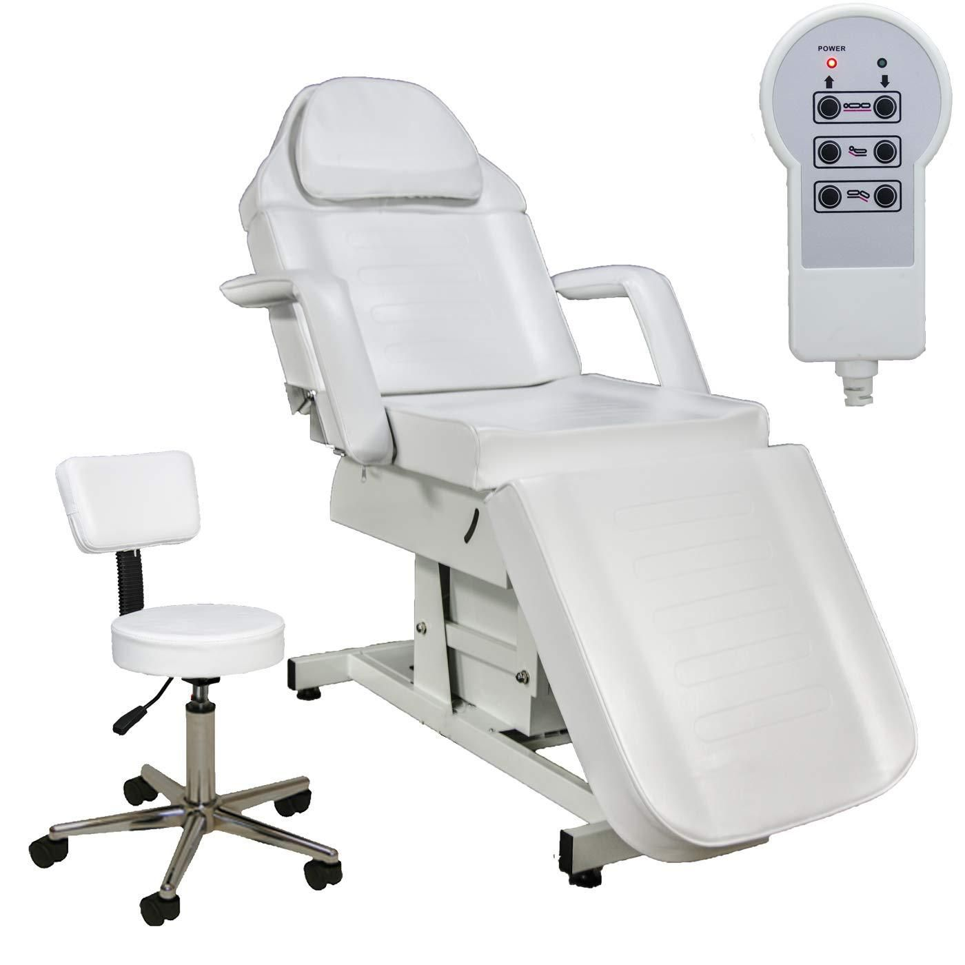 Buy Lcl Beauty Fully Electric Adjustable Facial Bed Massage Table White At Diane Beauty Supply For Only 1 199 76 In 2020 Massage Table Salon Equipment Adjustable Table