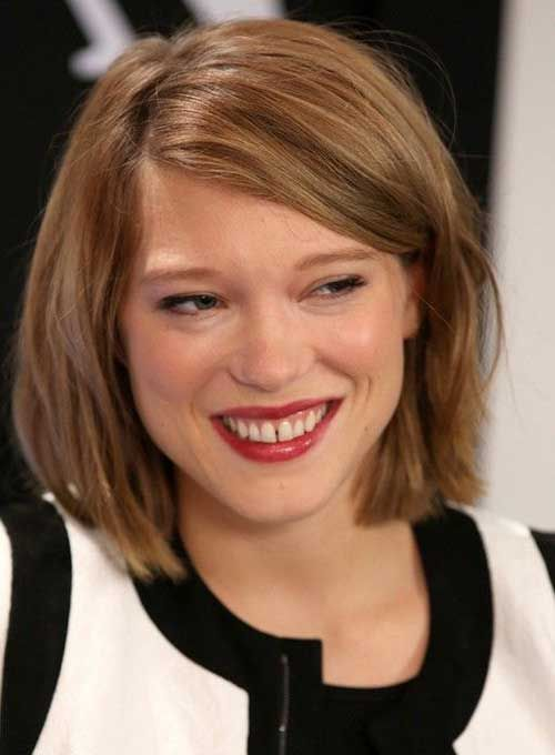 10 Cute Bobs for Round Faces | Bob Hairstyles 2015 - Short ...