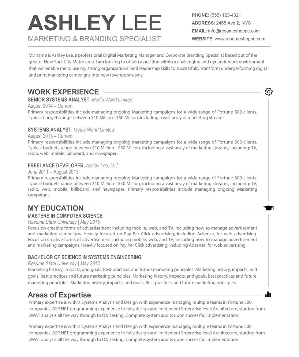 Examples Resumes Resume Example Collage Application Template Best
