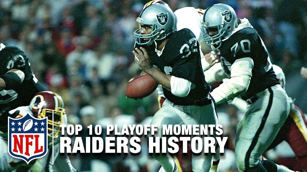94f3abe6 Top 10 Raiders Playoff Moments of All Time | NFL - YouTube | Raiders ...