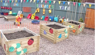 Outdoor Play Areas Dirt Sand And