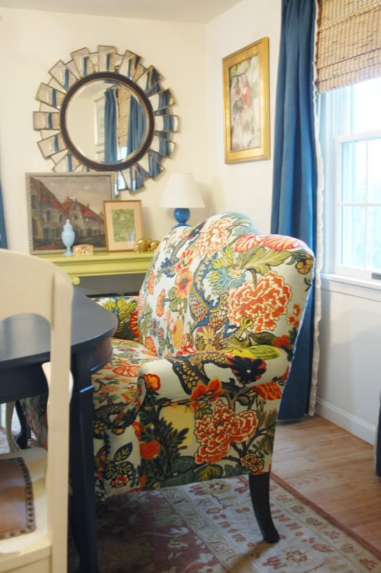 Tiny Home Designs: A Fabric Find (If You Still Love Dragons