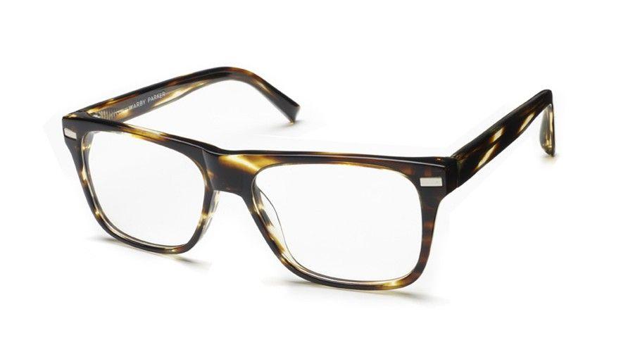 Holt striped sassafras eyeglasses warby parker glasses