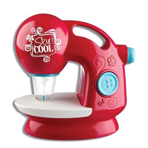 Kids Sewing Machine Sew Cool New Threadless Kit Crafts Pink Girls Gorgeous Girls Sewing Machine
