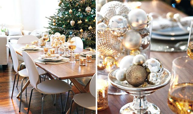 15 Gorgeous Holiday Table Settings | Holiday tables, Table settings ...