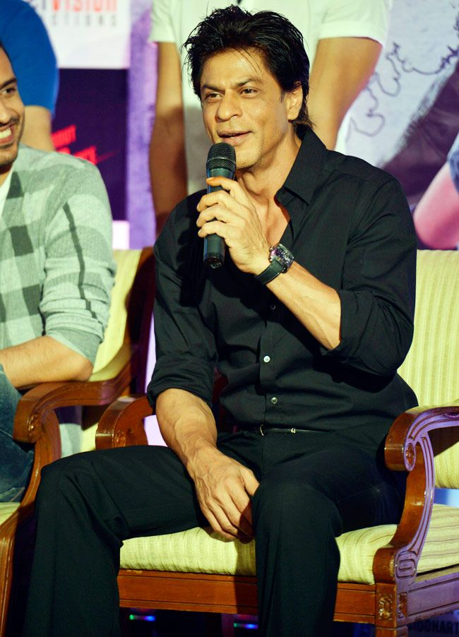 Shah Rukh Khan promoting the film 'Mad About Dance' in Mumbai. #Style #Bollywood #Fashion #Handsome
