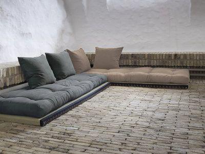 Canape Modulable Et Convertible Avec Futons Et Tatamis Chico Sofa Canape Au Sol Tatami Canape Modulable