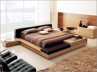 Modern beds and modern bedroom ideas Wood shop For the