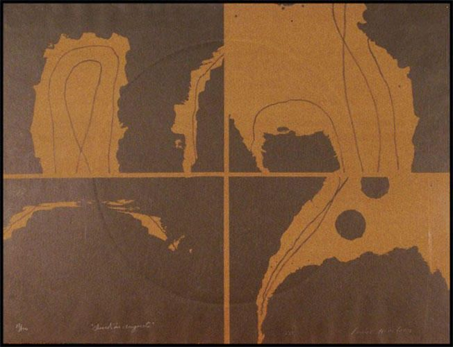 """LOUISE NEVELSON """"Dusk in August""""1967"""
