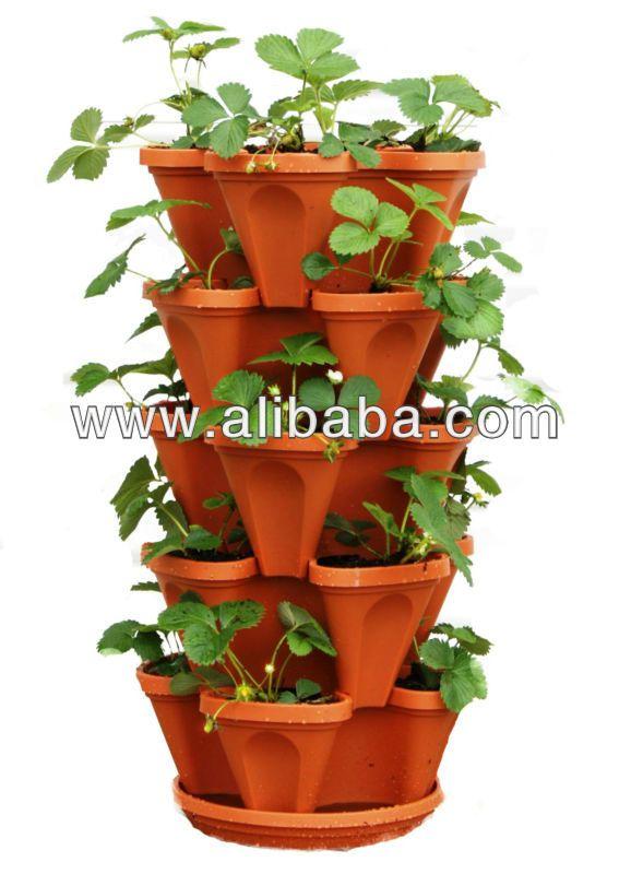 fraise vertical jardinage hydroponique tour pots syst me de culture kits effet de serre. Black Bedroom Furniture Sets. Home Design Ideas