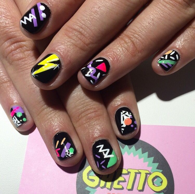 ghetto nails vaporwave in 2019