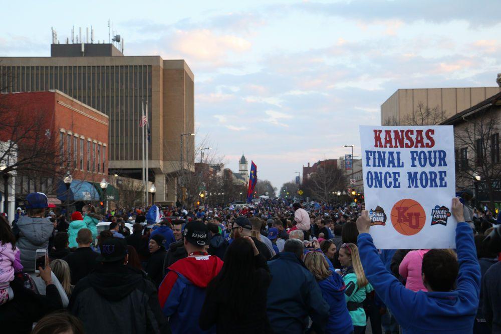 Mass Street Celebration For Print 3 Kansas Nostalgia Street