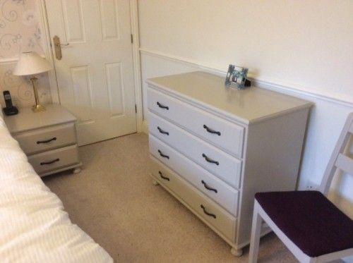 Two Different Sets Of Requirements, So Two Different Processes Were  Required On The Bedroom Furniture: Chalk Paint And Estate Eggshell From  Farrow And Ball.