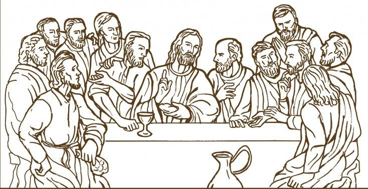 Salen A La Luz Contundentes Pruebas Que Confirman Que Jesus Y Sus 12 Apostoles Nunca Existieron Con Imagenes La Ultima Cena Ultima Cena De Jesus Arte Vectorial