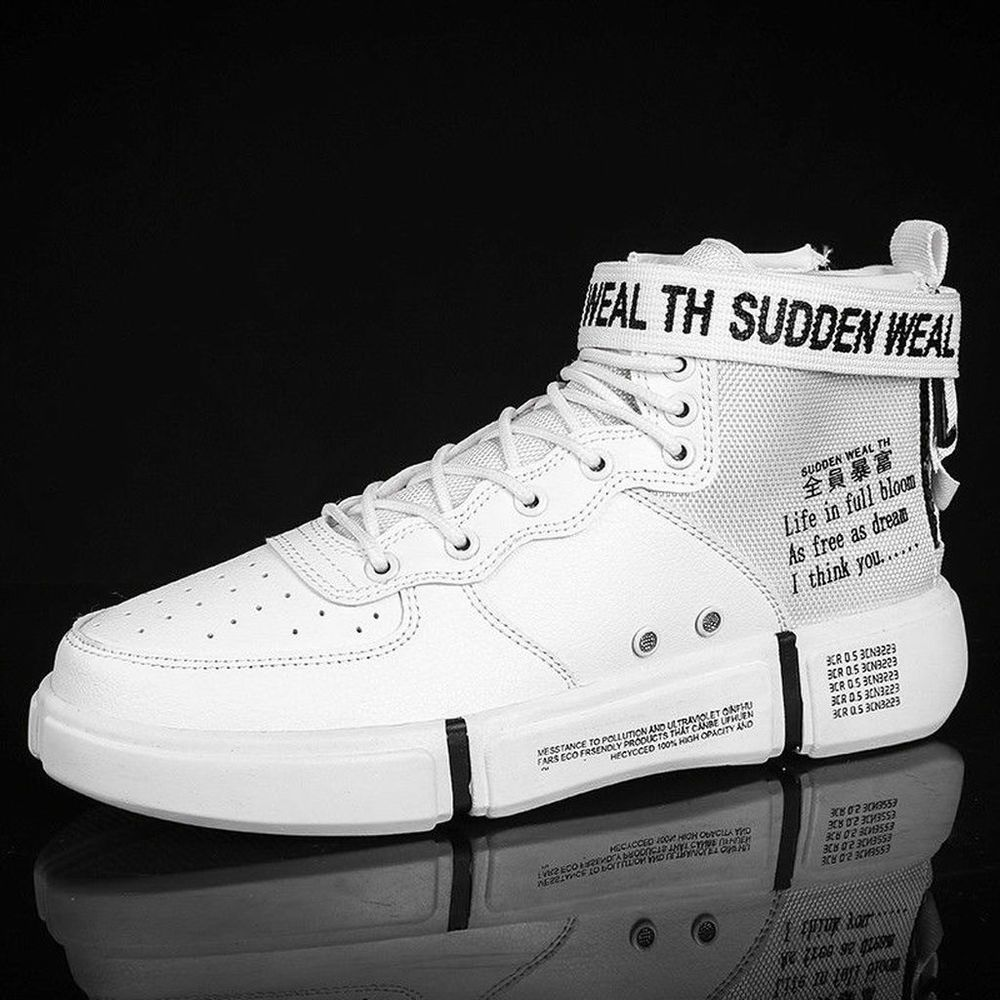 6363401e7 Mens Sandals Basketball Boots Shoes High Top Spots Sneakers Korean Han  Edition  fashion  clothing  shoes  accessories  mensshoes  casualshoes  (ebay link)
